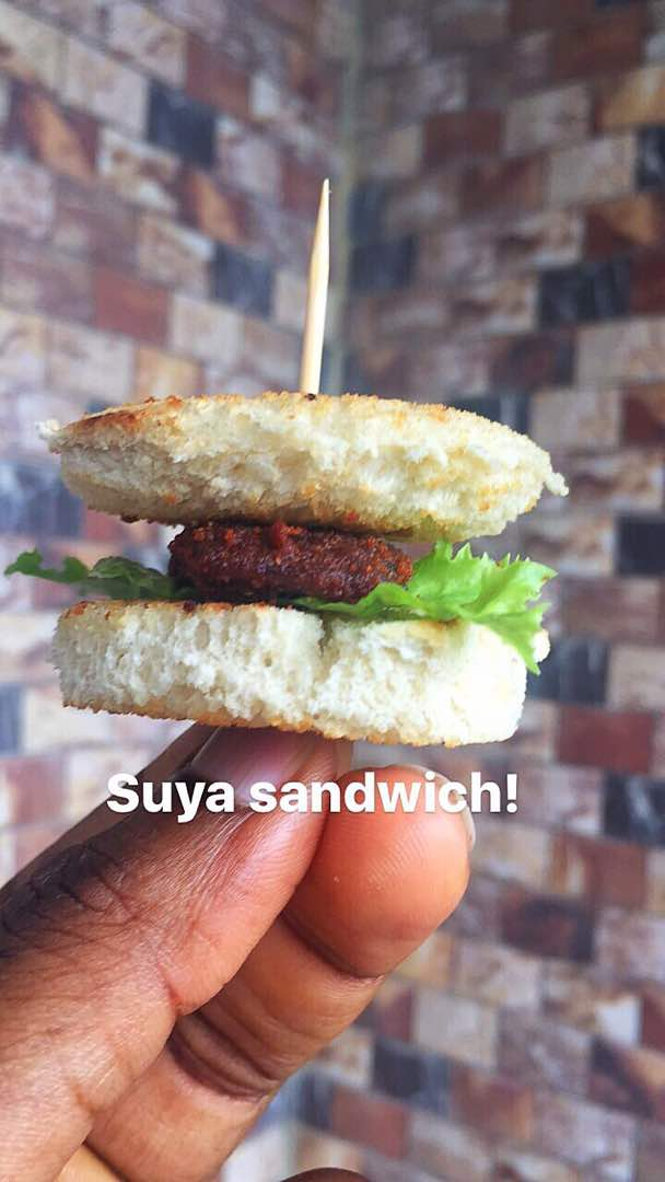 The Suya Sandwich Picture Story