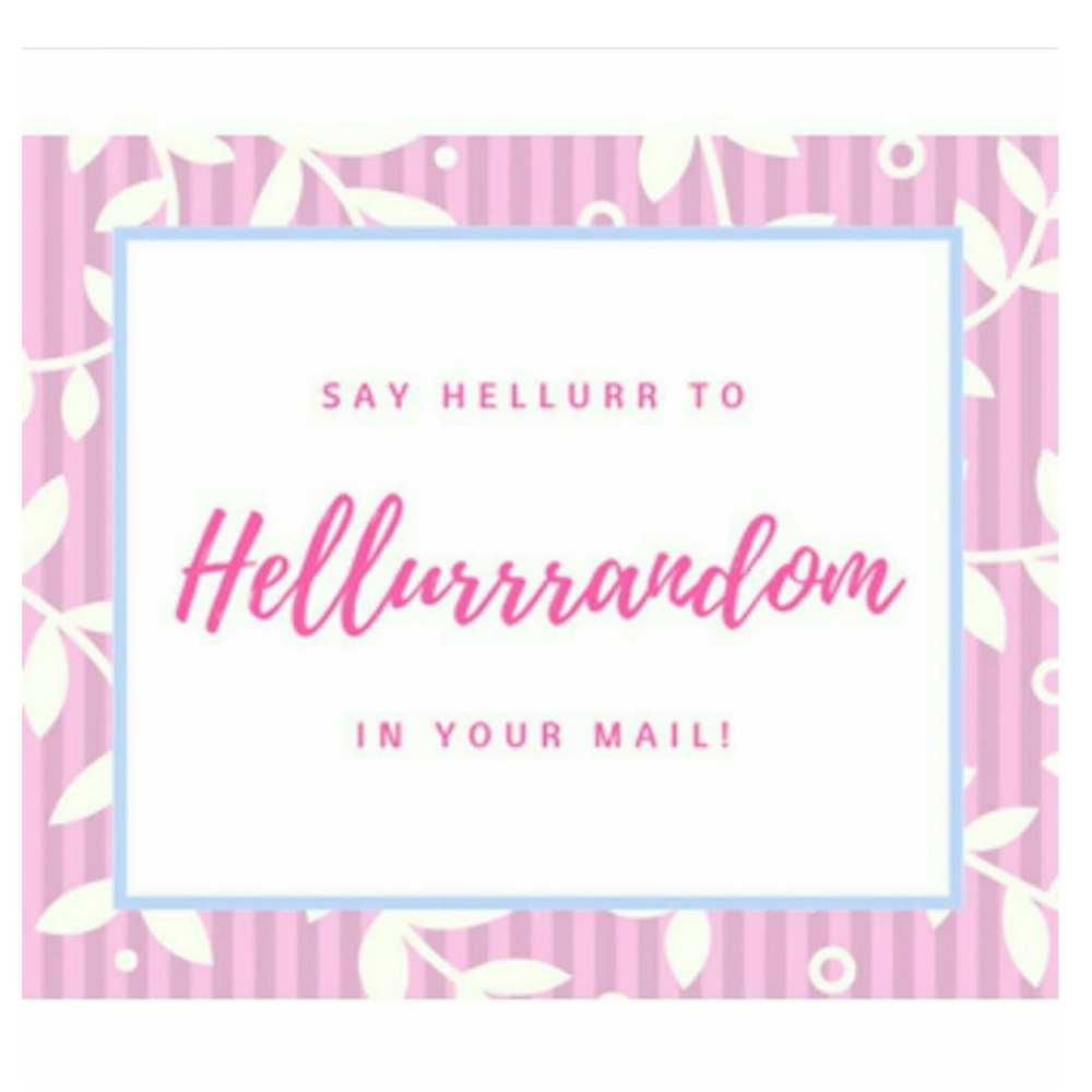 Subscribe to Hellurrrandom
