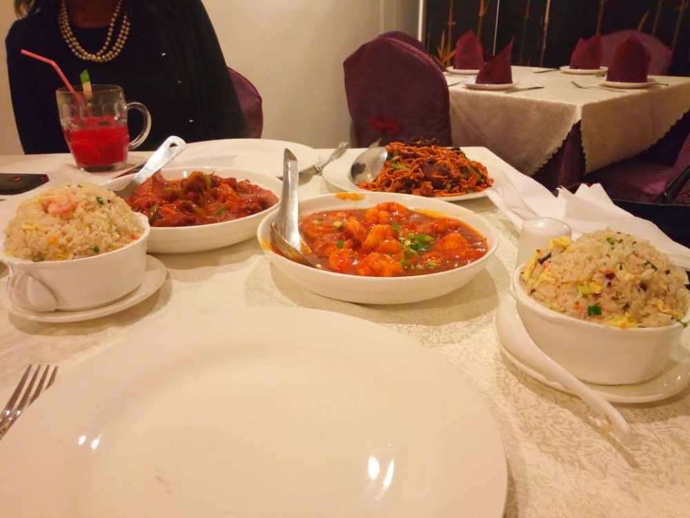 Chinese food in Lagos
