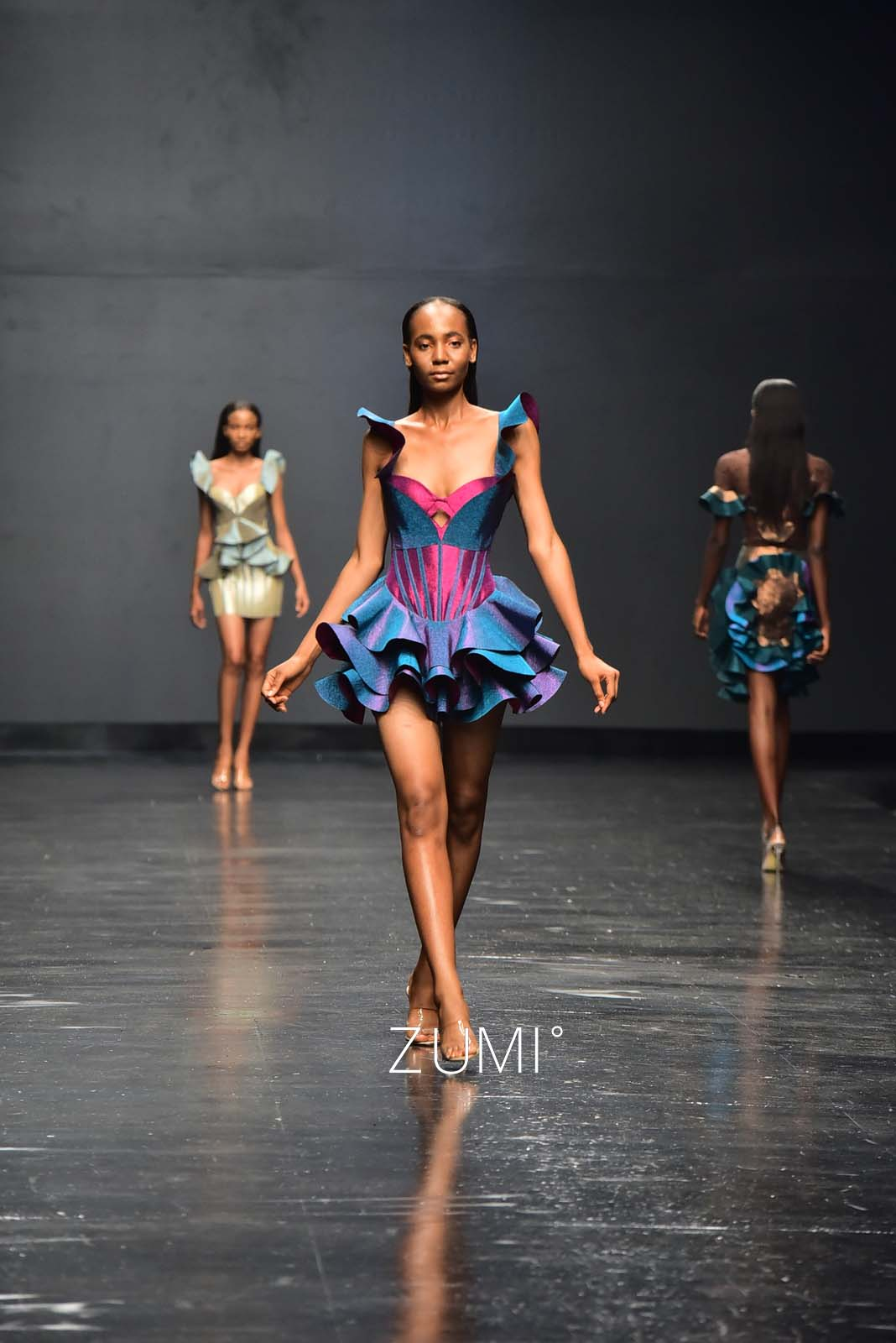 House of Deola x Clan at Lagos Fashion Week 2018
