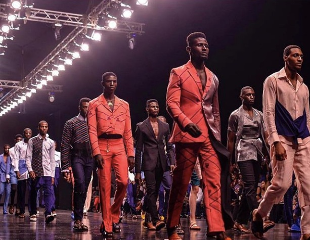 Emmy Kasbit at Lagos Fashion Week 2018