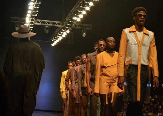 Russell Solomon at Lagos Fashion Week 2018