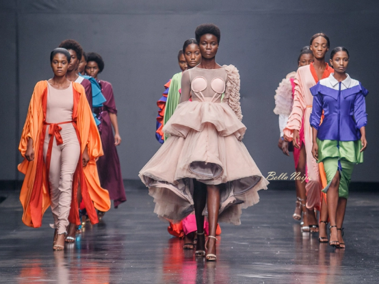 DZYN at the Lagos Fashion Week 2018