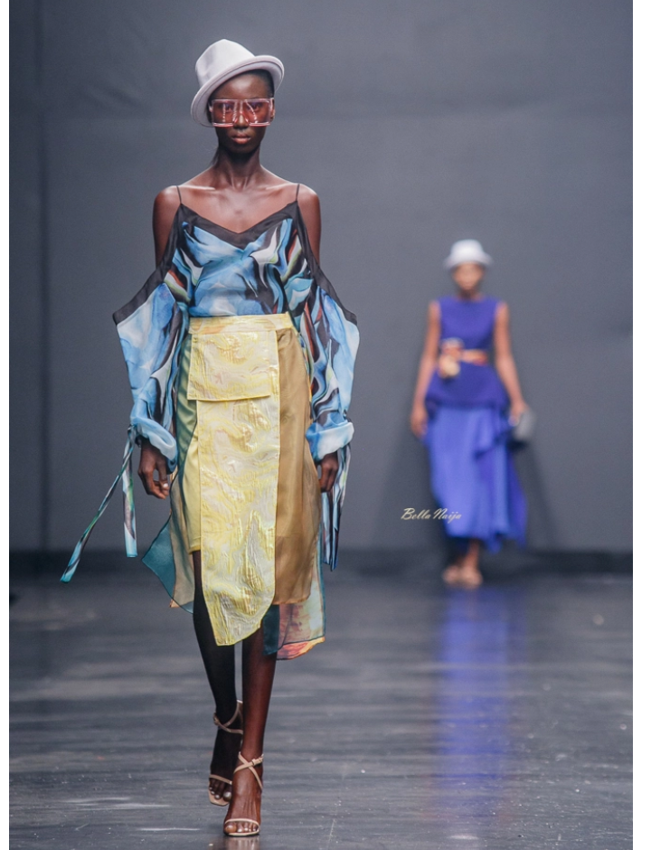 Moofa at Lagos Fashion Week 2018