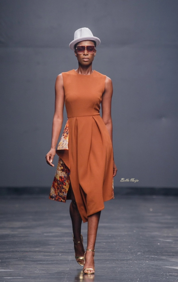 Moofa at the Lagos Fashion Week 2018