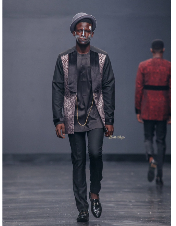 Ugo Monye at Lagos Fashion Week 2018