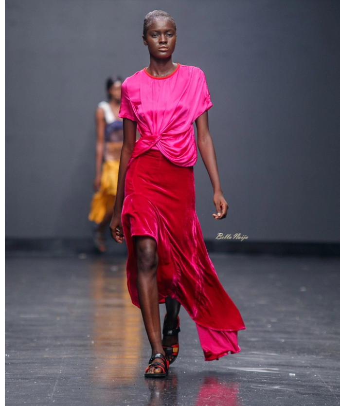 Maki Oh at Lagos Fashion Week 2018