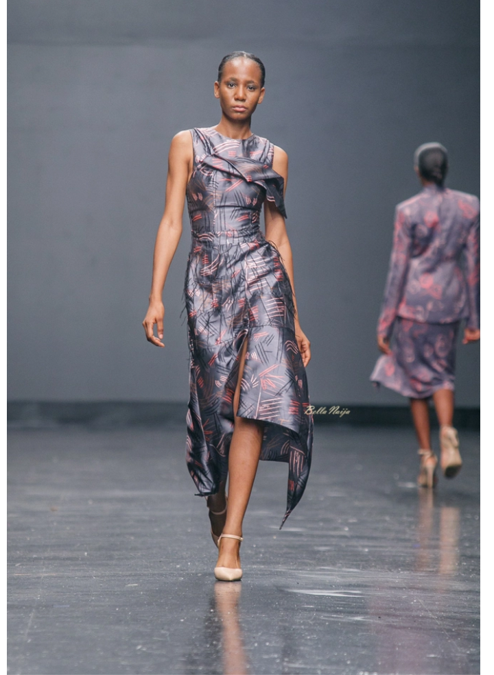 Meena at Lagos Fashion Week 2018