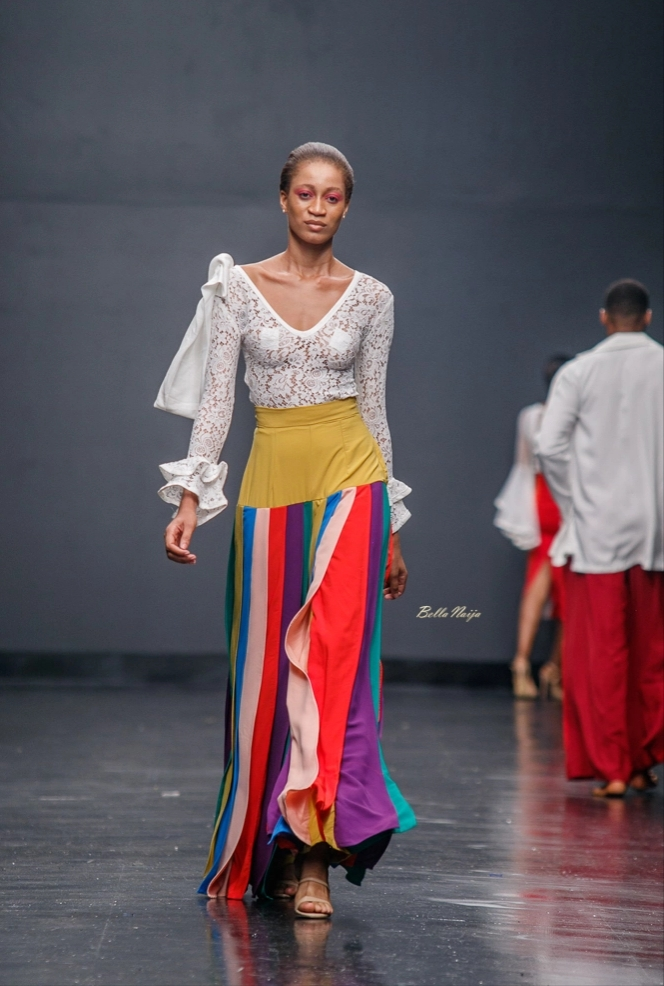Sisiano at Lagos Fashion Week 2018