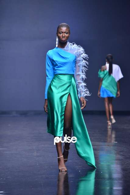 Fruche at Lagos Fashion Week 2018