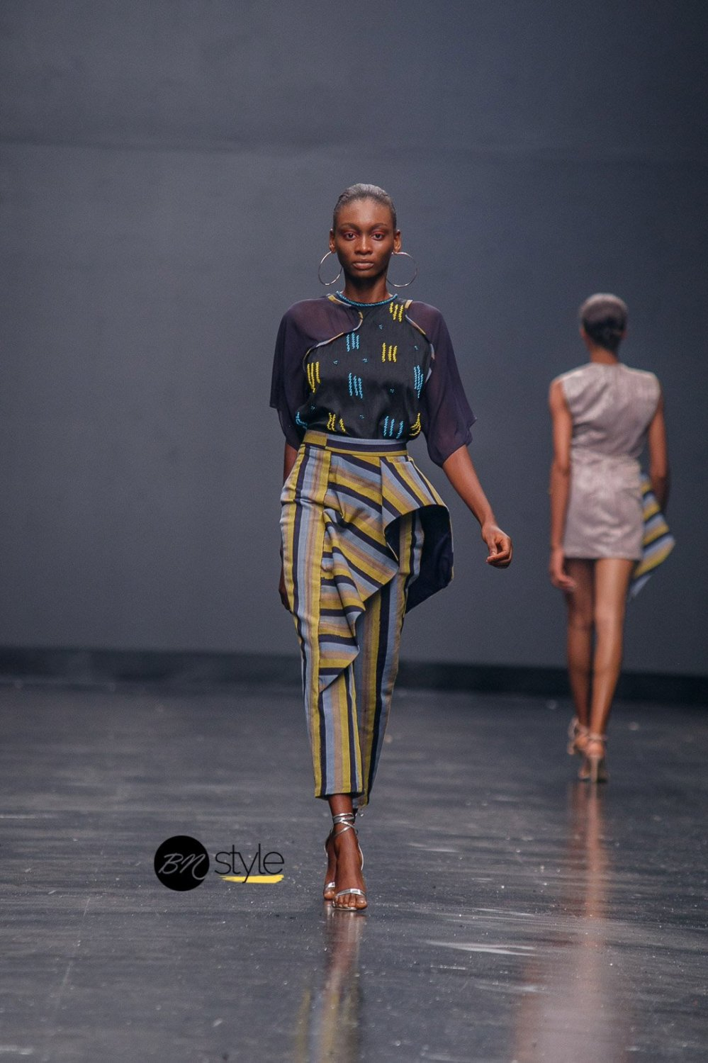 Ejiro Amos Tafiri at Lagos Fashion Week 2018