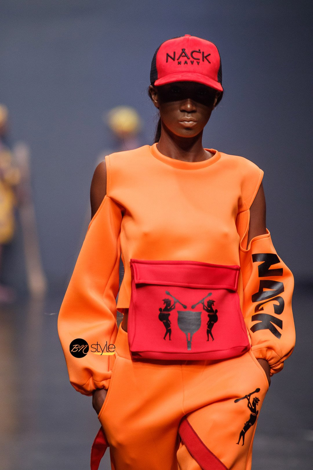 Nack at Lagos Fashion Week 2018
