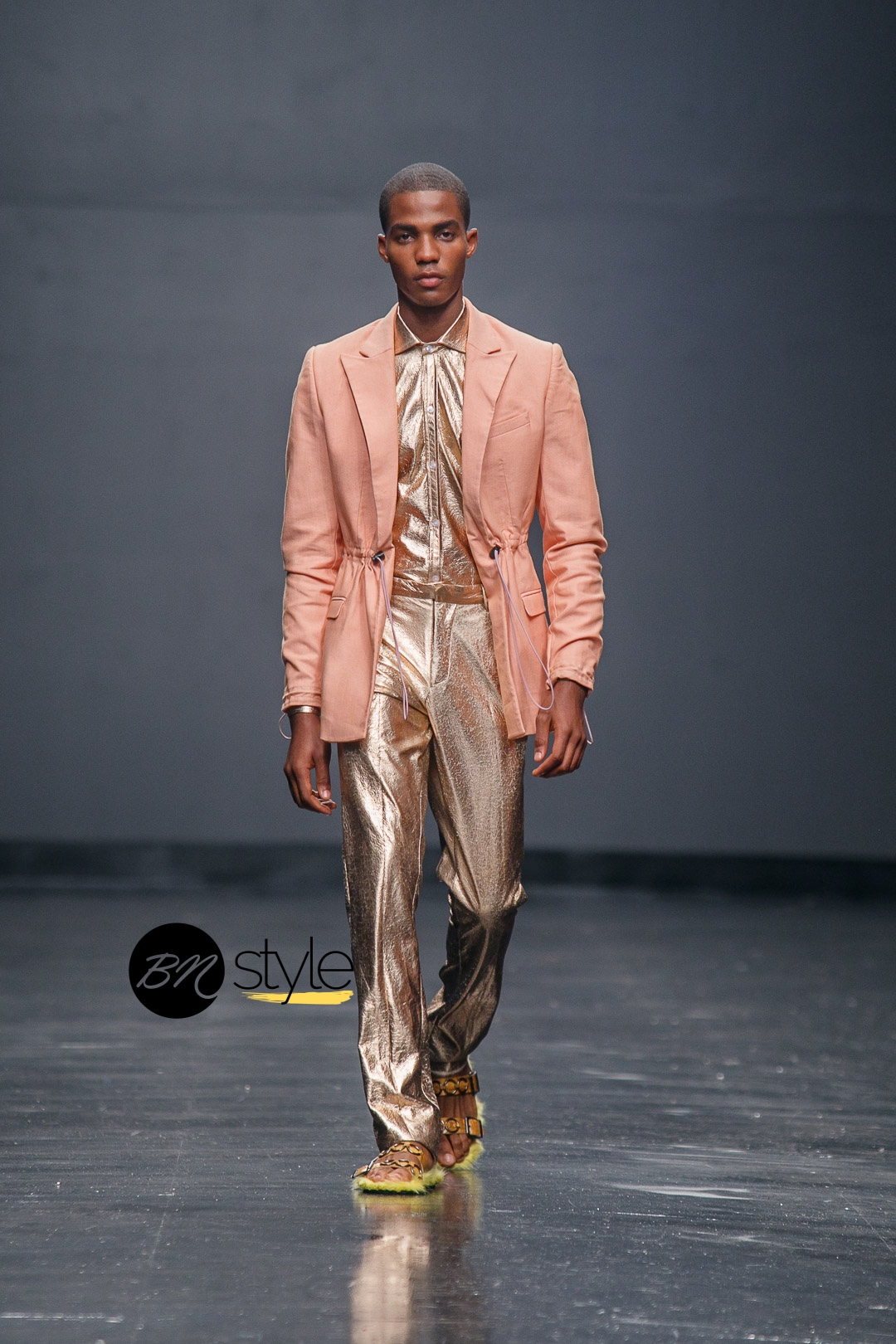 Tokyo James  at Lagos Fashion Week 2018