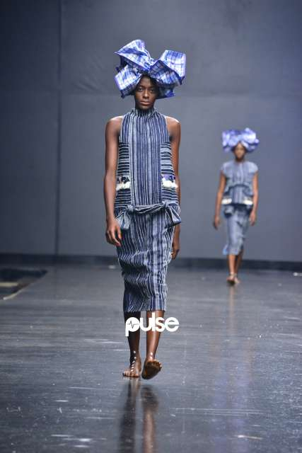 Nkwo at Lagos Fashion Week 2018