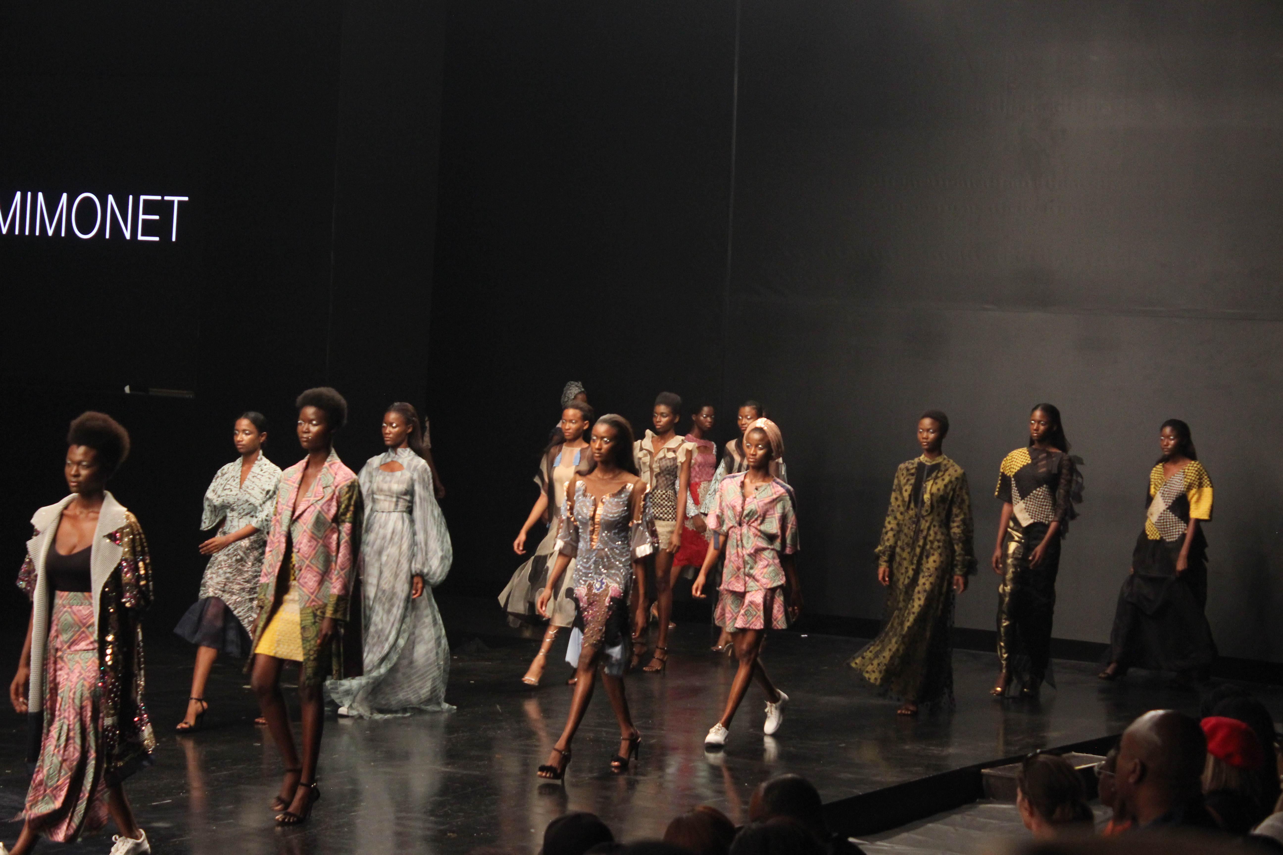 Odio Mimonet at Lagos Fashion Week 2018