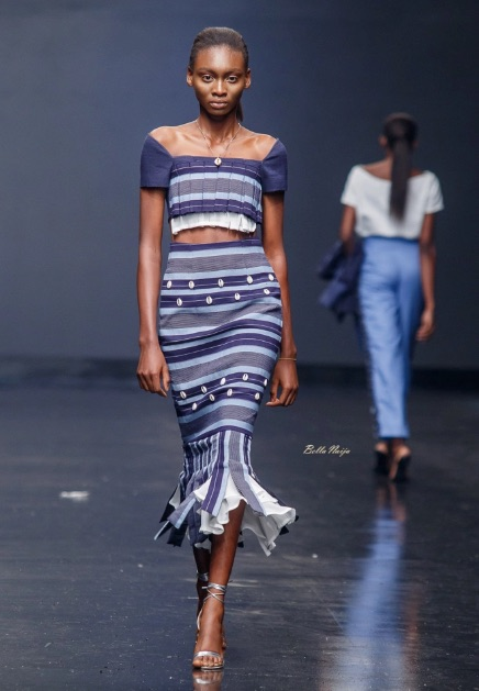 Ladunni Lambo at Lagos Fashion Week 2018
