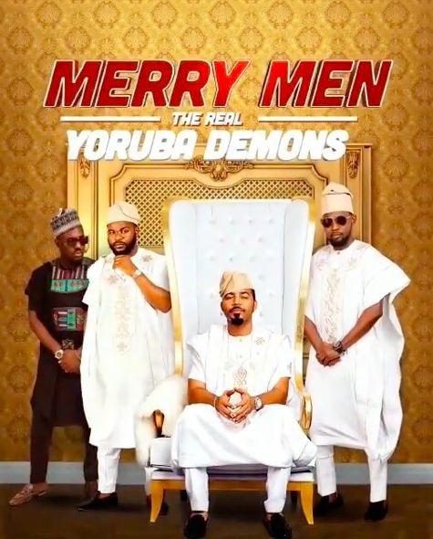 Ramsey nouah agbada challenge merry men