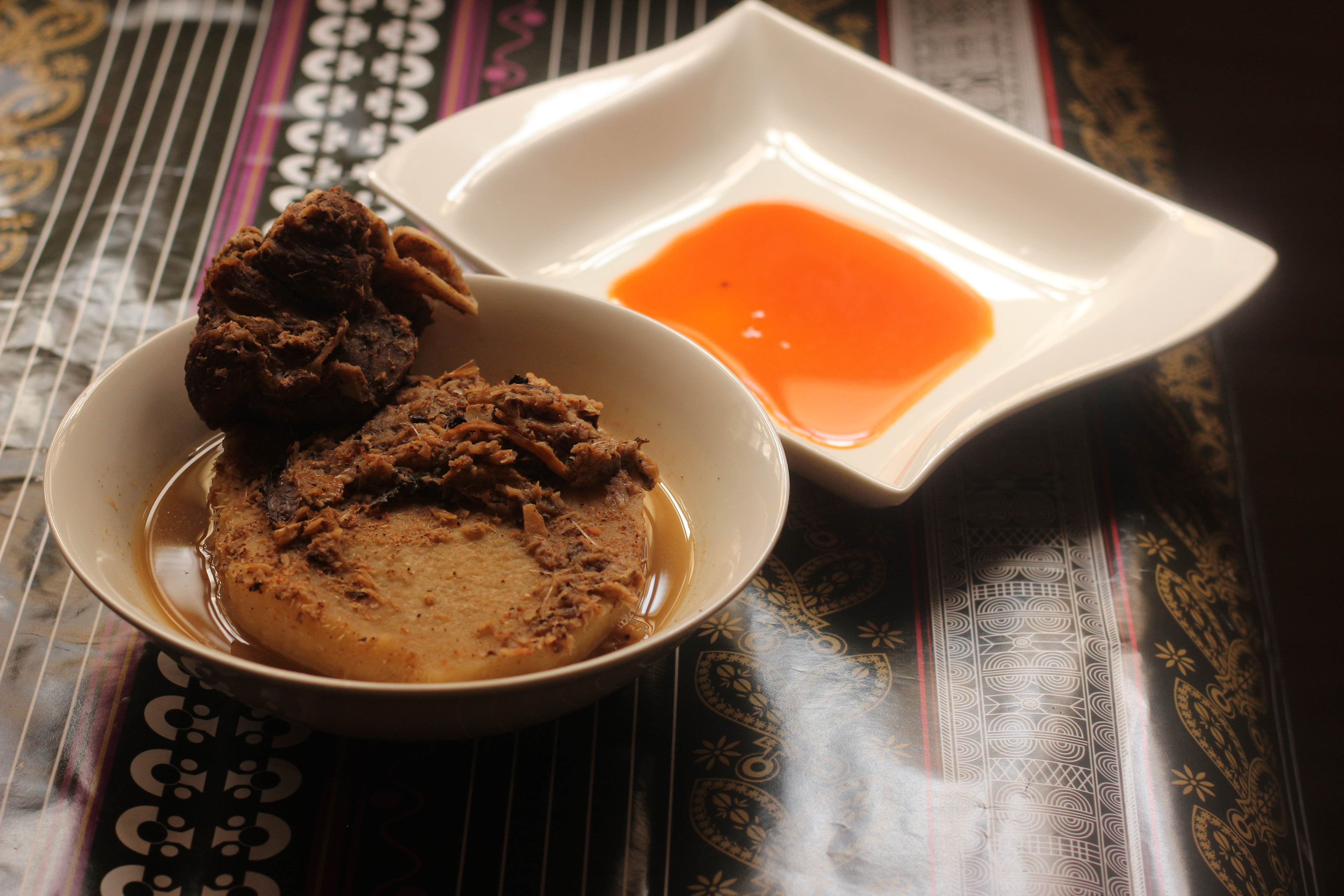 How to make Yam Peppersoup