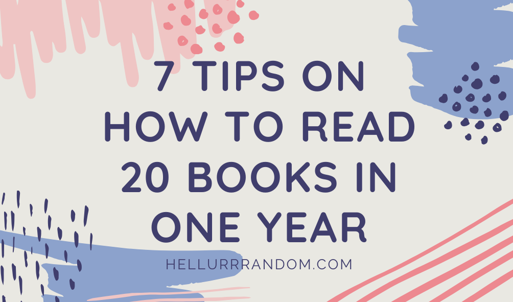 Tips to reading more books